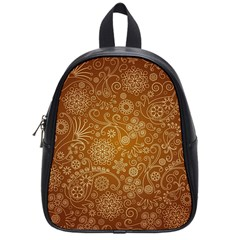 Batik Art Pattern School Bags (small)