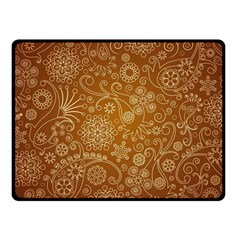 Batik Art Pattern Fleece Blanket (small) by BangZart