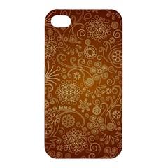 Batik Art Pattern Apple Iphone 4/4s Premium Hardshell Case by BangZart