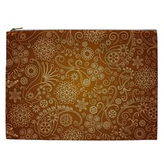 Batik Art Pattern Cosmetic Bag (xxl)