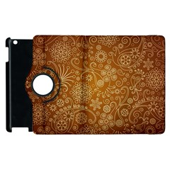 Batik Art Pattern Apple Ipad 3/4 Flip 360 Case by BangZart