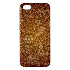Batik Art Pattern Apple Iphone 5 Premium Hardshell Case