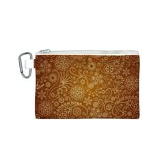 Batik Art Pattern Canvas Cosmetic Bag (s) by BangZart