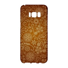 Batik Art Pattern Samsung Galaxy S8 Hardshell Case  by BangZart