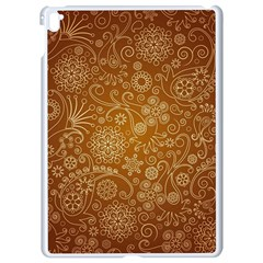 Batik Art Pattern Apple Ipad Pro 9 7   White Seamless Case