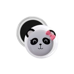 Pretty Cute Panda 1 75  Magnets