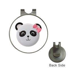 Pretty Cute Panda Hat Clips With Golf Markers