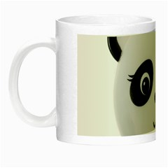 Pretty Cute Panda Night Luminous Mugs by BangZart