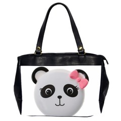 Pretty Cute Panda Office Handbags (2 Sides)