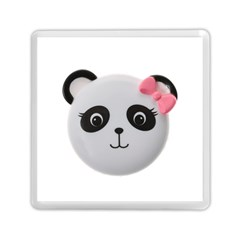 Pretty Cute Panda Memory Card Reader (square)