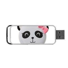 Pretty Cute Panda Portable Usb Flash (one Side) by BangZart