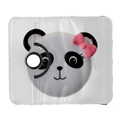 Pretty Cute Panda Galaxy S3 (flip/folio) by BangZart