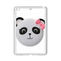 Pretty Cute Panda Ipad Mini 2 Enamel Coated Cases by BangZart