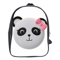 Pretty Cute Panda School Bags (xl)