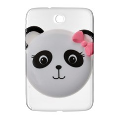 Pretty Cute Panda Samsung Galaxy Note 8 0 N5100 Hardshell Case  by BangZart