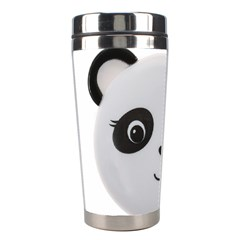 Pretty Cute Panda Stainless Steel Travel Tumblers by BangZart