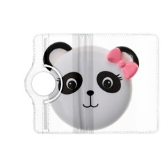 Pretty Cute Panda Kindle Fire Hd (2013) Flip 360 Case by BangZart