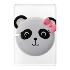 Pretty Cute Panda Samsung Galaxy Tab Pro 10 1 Hardshell Case by BangZart