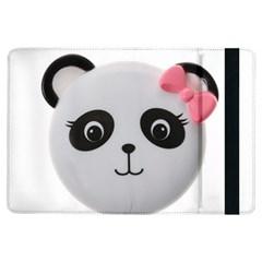 Pretty Cute Panda Ipad Air Flip by BangZart