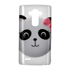 Pretty Cute Panda Lg G4 Hardshell Case by BangZart