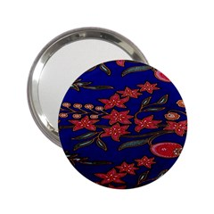 Batik  Fabric 2 25  Handbag Mirrors