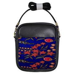 Batik  Fabric Girls Sling Bags by BangZart