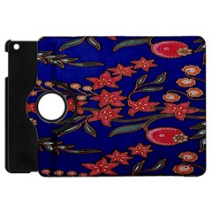 Batik  Fabric Apple Ipad Mini Flip 360 Case