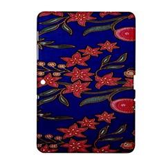 Batik  Fabric Samsung Galaxy Tab 2 (10 1 ) P5100 Hardshell Case  by BangZart