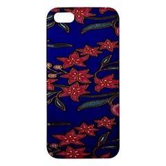 Batik  Fabric Iphone 5s/ Se Premium Hardshell Case by BangZart