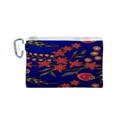 Batik  Fabric Canvas Cosmetic Bag (s) by BangZart