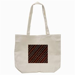 Art Traditional Batik Pattern Tote Bag (cream)