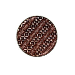 Art Traditional Batik Pattern Hat Clip Ball Marker (10 Pack)