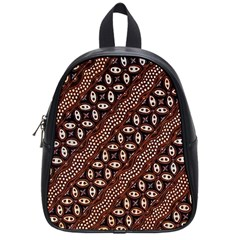 Art Traditional Batik Pattern School Bags (small)