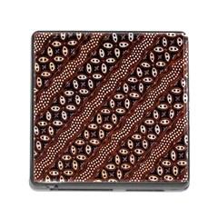 Art Traditional Batik Pattern Memory Card Reader (square)