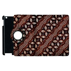 Art Traditional Batik Pattern Apple Ipad 3/4 Flip 360 Case by BangZart