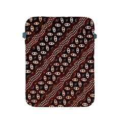 Art Traditional Batik Pattern Apple Ipad 2/3/4 Protective Soft Cases by BangZart