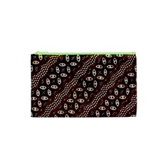 Art Traditional Batik Pattern Cosmetic Bag (xs) by BangZart