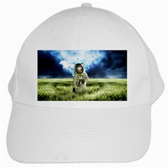 Astronaut White Cap