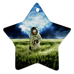 Astronaut Star Ornament (two Sides)