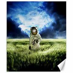 Astronaut Canvas 20  X 24   by BangZart