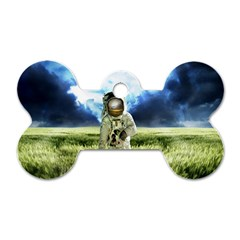 Astronaut Dog Tag Bone (two Sides) by BangZart