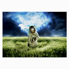 Astronaut Large Glasses Cloth (2 Side) by BangZart