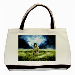 Astronaut Basic Tote Bag (two Sides) by BangZart