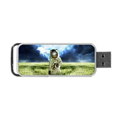 Astronaut Portable Usb Flash (one Side) by BangZart