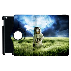 Astronaut Apple Ipad 2 Flip 360 Case by BangZart