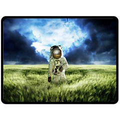 Astronaut Double Sided Fleece Blanket (large)  by BangZart