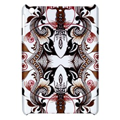 Art Traditional Batik Flower Pattern Apple Ipad Mini Hardshell Case by BangZart