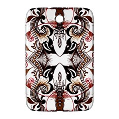 Art Traditional Batik Flower Pattern Samsung Galaxy Note 8 0 N5100 Hardshell Case  by BangZart