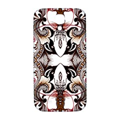 Art Traditional Batik Flower Pattern Samsung Galaxy S4 I9500/i9505  Hardshell Back Case