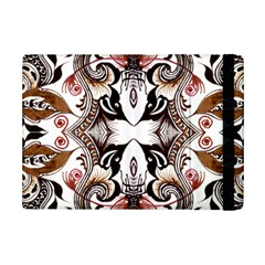 Art Traditional Batik Flower Pattern Ipad Mini 2 Flip Cases by BangZart